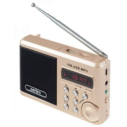 Радиоприемник Perfeo Sound Ranger PF-SV922 Шампань/Золото