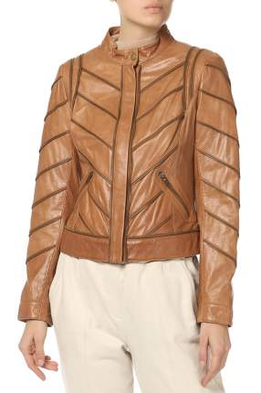 Куртка женская AMBIENTE 0221541/51 коричневая 38 DE