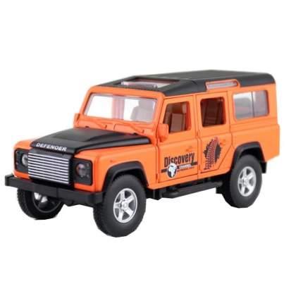 Коллекционная модель машины джип RENG DEF инерционная, 14.6см , цв. оранжевый