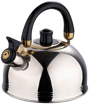 Чайник для плиты Wellberg WB-0126 Серебристый