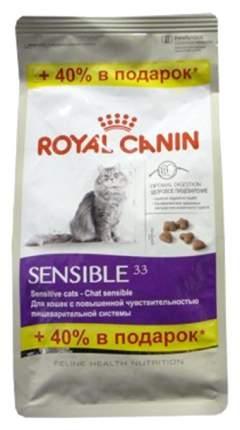 Сухой корм для кошек ROYAL CANIN Sensible 33, при чувствительном пищеварении, 0,56кг