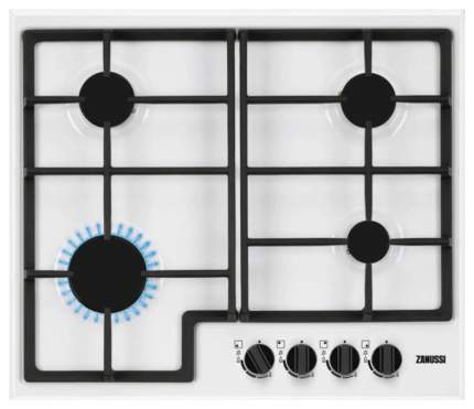 Встраиваемая варочная панель газовая Zanussi GPZ263SW White/Black