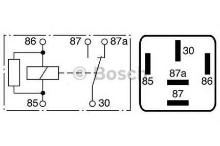 Реле Bosch 0986332041
