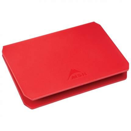 Туристическая разделочная доска MSR Alpine Deluxe красная