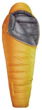 Спальный мешок Therm-A-Rest Oberon Long оранжевый, левый