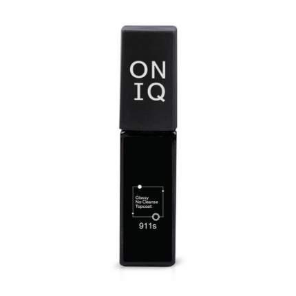 Финишное покрытие Oniq Glossy No Cleanse Topcoat без липкого слоя 6 мл