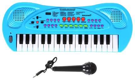 Синтезатор игрушечный Zhorya с микрофоном 32 клавиши ZYB-B0690-3