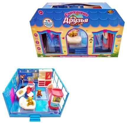 Игровой набор Abtoys Счастливые друзья: Гостиная 12 пред.
