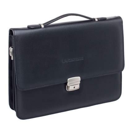 Портфель мужской кожаный Lakestone Gordon черный