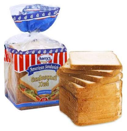 Хлеб Harry's american sandwich бриошь десертный 470 г