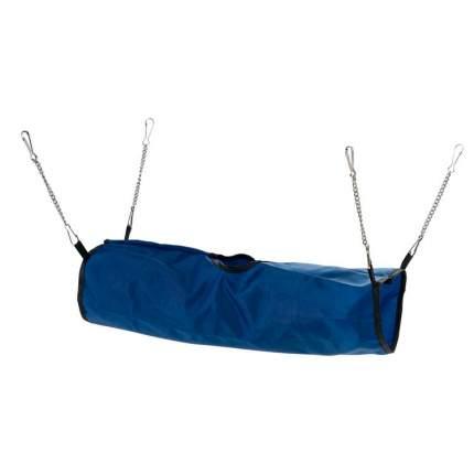 Тоннель для грызунов Ferplast полиэстр, 10х42 см, цвет синий