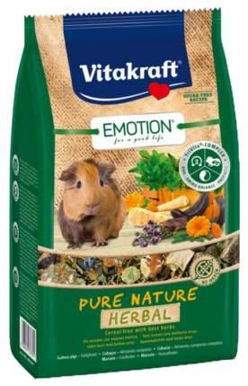 Корм для морских свинок Vitakraft Emotion Pure Nature Herbal 0.6 кг 1 шт