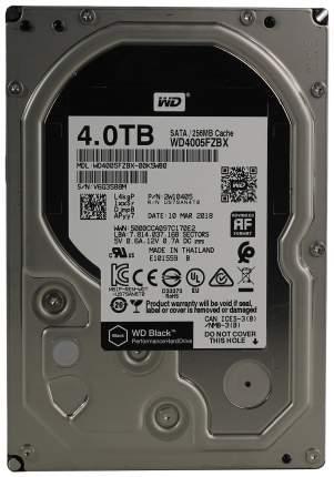 Внутренний жесткий диск Western Digital Black 4TB (WD4005FZBX)