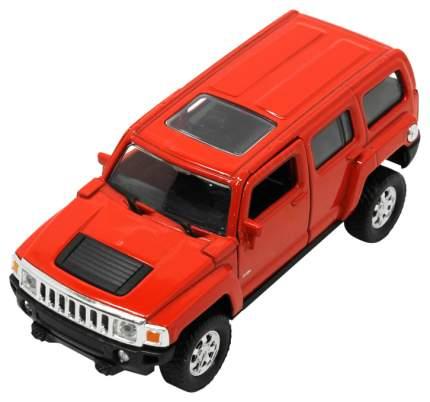 Коллекционная модель Welly набор с прицепом Hummer H3 + Chevrolet Camaro ZL1 43629F-2