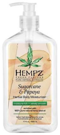 Молочко для тела Hempz Сахарный тростник и папайя 500 мл