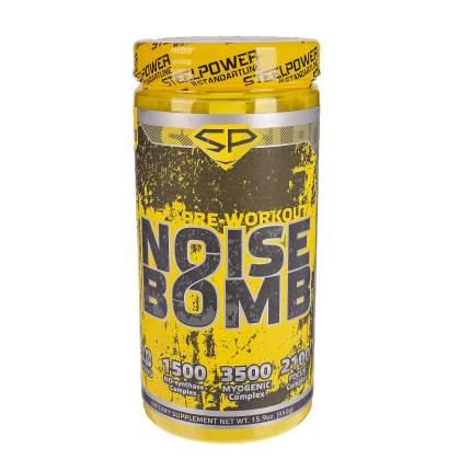 Предтренировочный комплекс Steel Power Nutrition Noise Bomb 450 г, Cold Apple