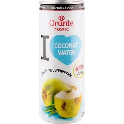 Вода Grante tropic кокосовая 250 мл