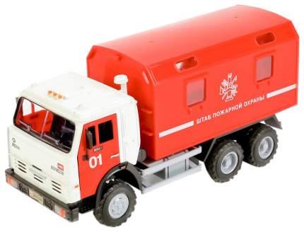 Игрушечный грузовик Joy Toy Штаб пожарной охраны (свет, звук)