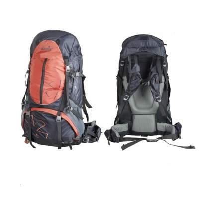 Туристический рюкзак Norfin Newerest NS 65 л серый/оранжевый