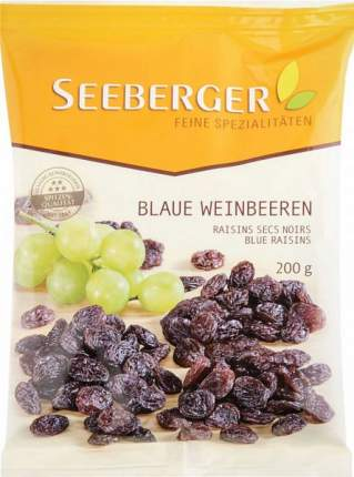 Сухофрукты Seeberger изюм из темного винограда  200 г
