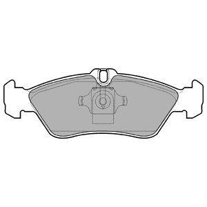 Тормозные колодки дисковые DELPHI LP1596