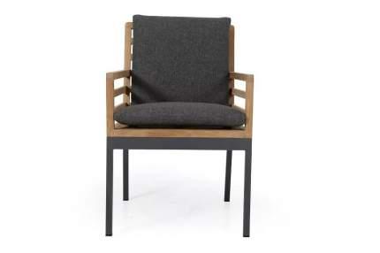Кресло для гостиной Brafab Zalongo BRF_4251-72-73, коричневый/серый