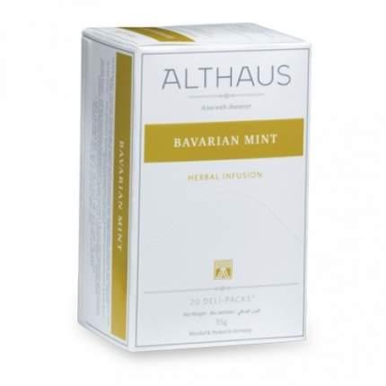 Чай травяной Althaus bavarian mint 20 пакетиков