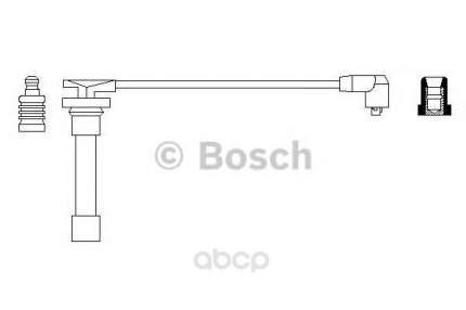 Провод высоковольтный Bosch 0986356171