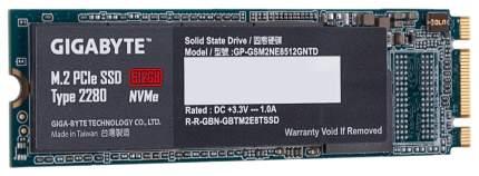 Внутренний SSD диск GigaByte 512GB (GP-GSM2NE8512GNTD)