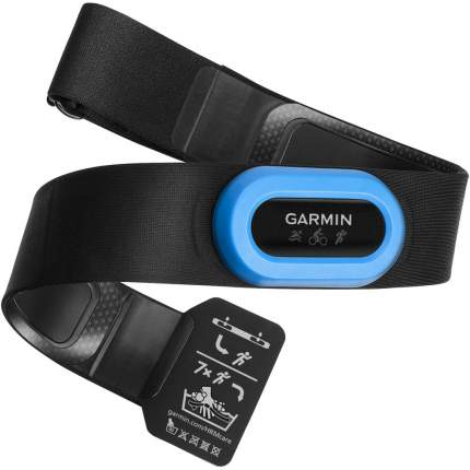 Нагрудный кардиодатчик Garmin HRM-Tri черный