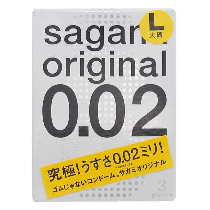 Презервативы Sagami Original L-size 3 шт.