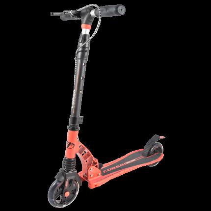 Самокат Tech Team Corsa черно-оранжевый 2019