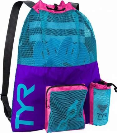 Рюкзак сетка TYR Big Mesh Mummy Backpack фиолетовый (545)