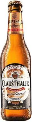 Пиво Clausthaler безалкогольное нефильтрованное стекло 0.33 л