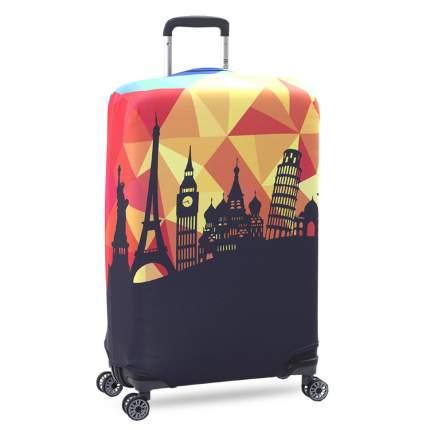 Чехол для чемодана KonAle Чудо Света M