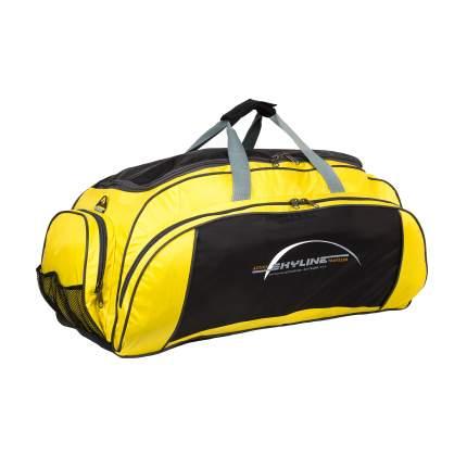 Спортивная сумка Polar 6064/6 желтая
