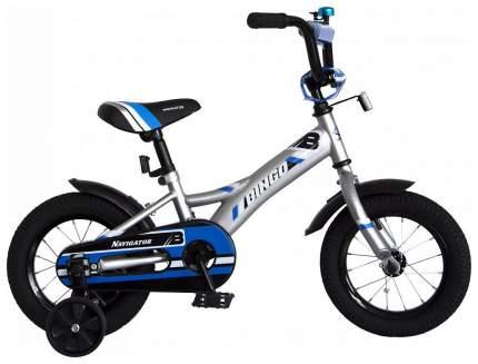 Детский велосипед двухколесный Navigator Bingo серебристый