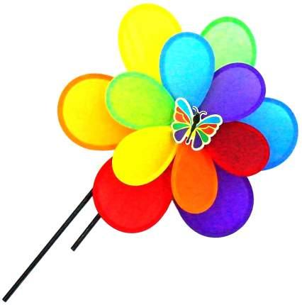 Ветрячок цветок с бабочкой 37 см Shantou Gepai PW37 3