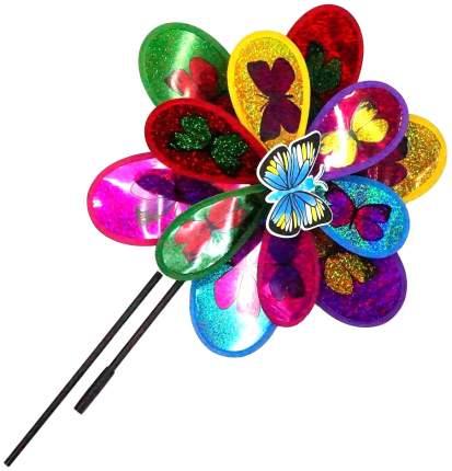 Двойной ветрячок цветок с бабочками 37 см Shantou Gepai PW37 1
