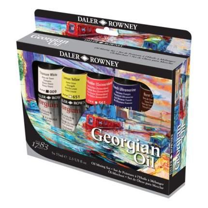 Масляные краски Daler Rowney Mixing Georgian 5 цветов