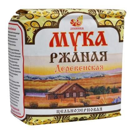 Мука Дивинка ржаная цельнозерновая 1 кг