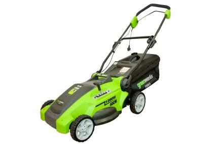 Электрическая газонокосилка Greenworks GLM1240 25147