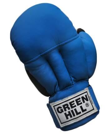 Перчатки для рукопашного боя Green Hill PG-2047, к/з, синий (M)