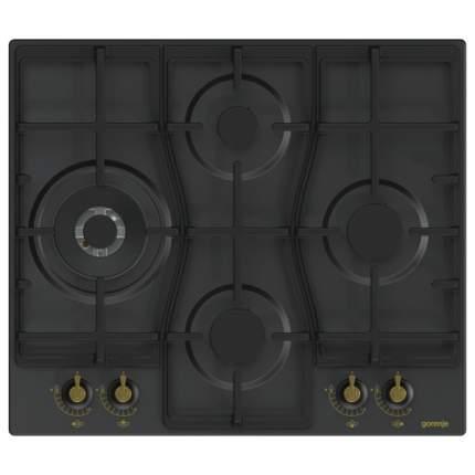 Встраиваемая варочная панель газовая Gorenje GW6D41CLB Black