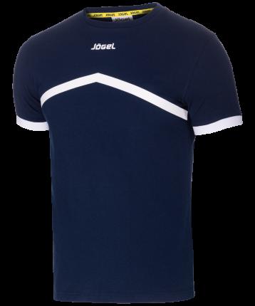 Футболка Jogel JCT-1040-091, темно-синий/белый, S INT