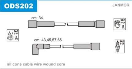 Комплект проводов зажигания JANMOR ODS202