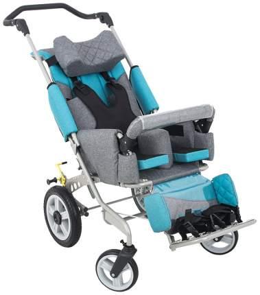 Кресло-коляска Akces-med Рейсер+ размер 2 поворотные колеса лайм козырёк чехол на ноги