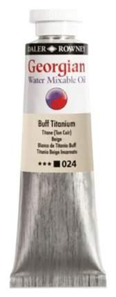 Масляная водорастворимая краска Daler Rowney Georgian смесь титановых белил 37 мл