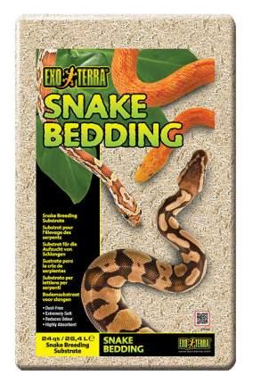Грунт для террариума Exo Terra Snake Bedding, Змеиный, 26,4 л