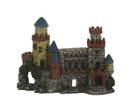 Декорация для аквариума Prime Замок с двумя башнями CH1017, пластик, 27х10х20 см